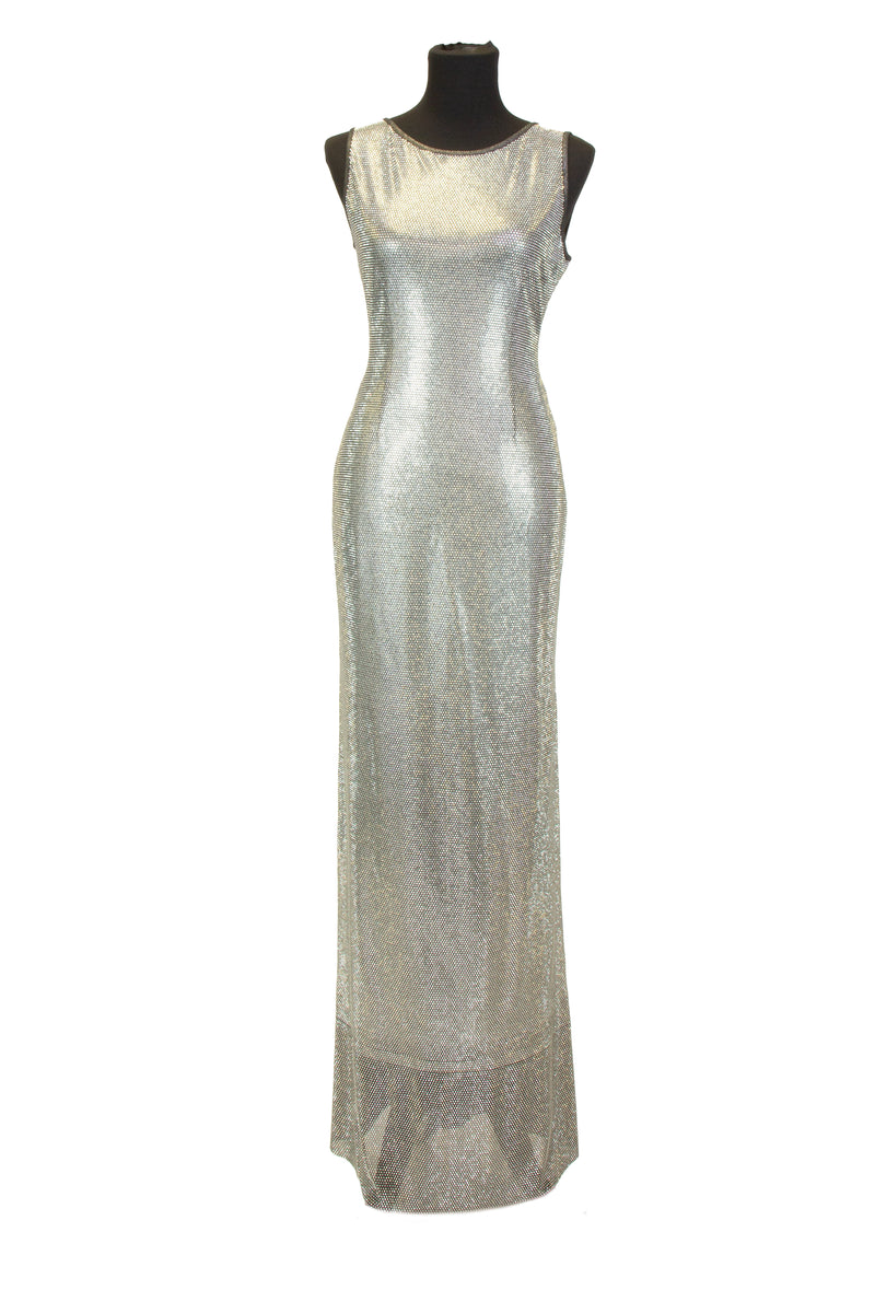 Metallic Pave Gown - W1431003