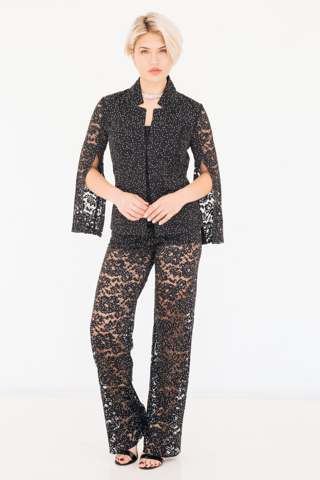 Stardust Rose Lace Pant - W4430802