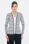 Pave Resin Striped Bomber Jacket - W2460903