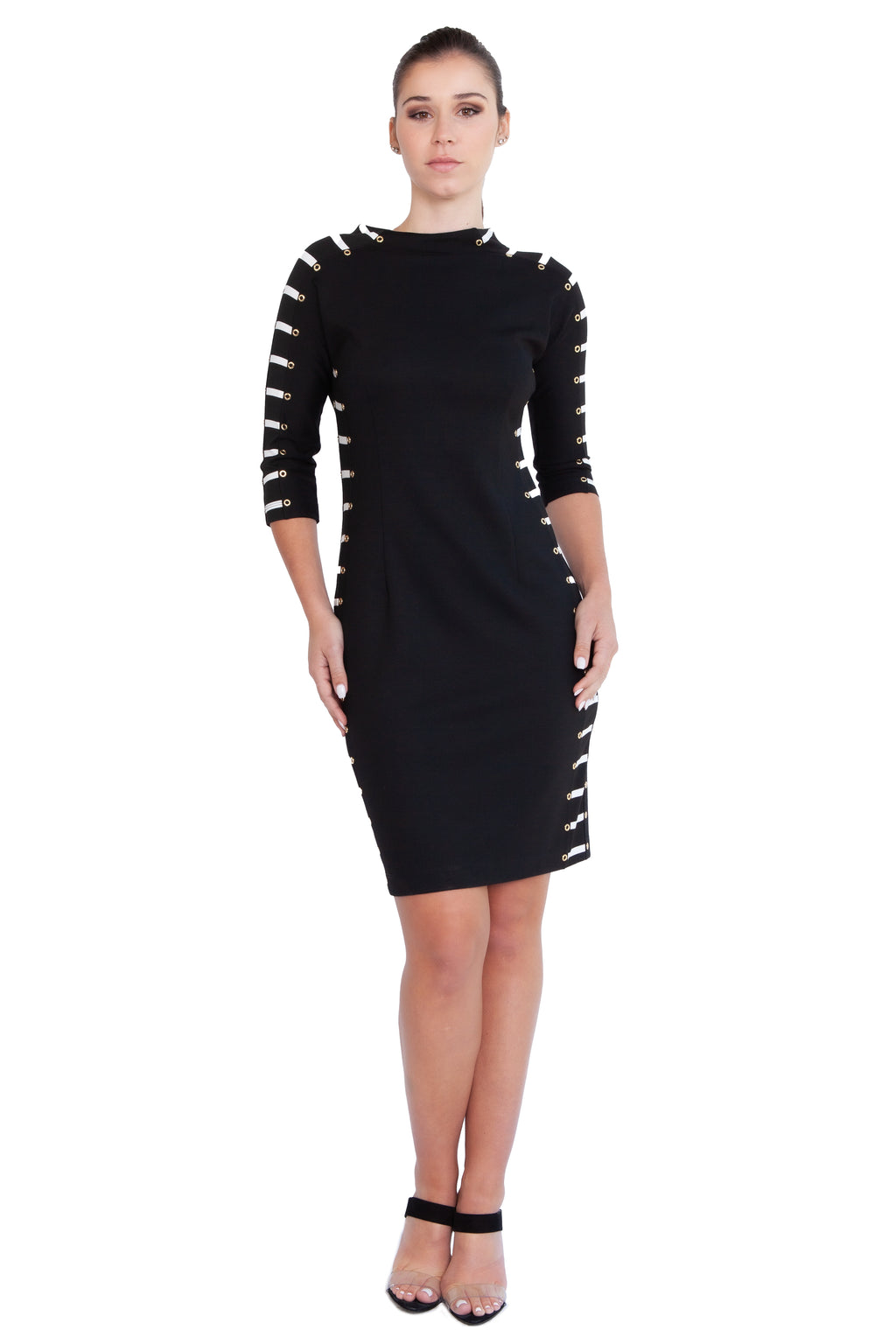 Grommet Racer Dress - W1500601