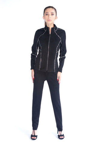 Super Stretch Grommet Jacket - W2500208