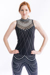 Crystal Feather Dress - W1491201