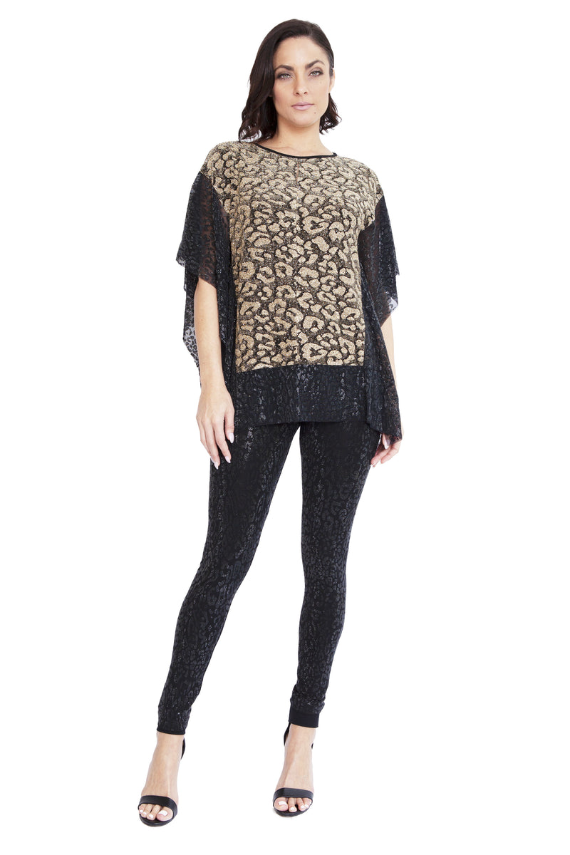 Cheetah Tigress Poncho - W6500901