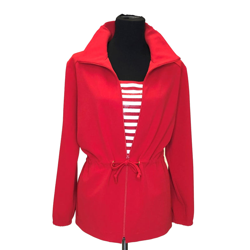 Sporty Stripe Anorak Jacket - W2501206