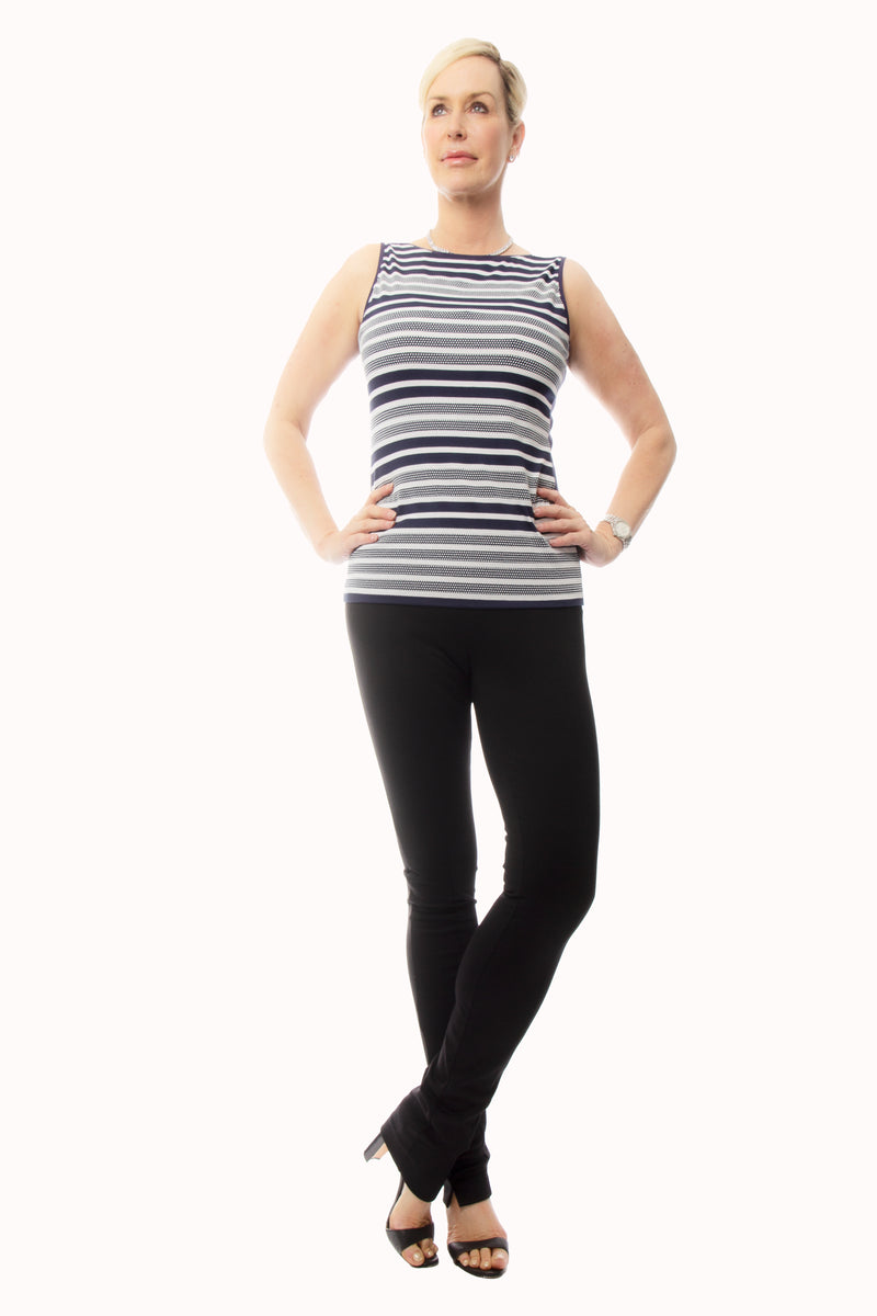 Striped Domestud Tank Top - W8500105