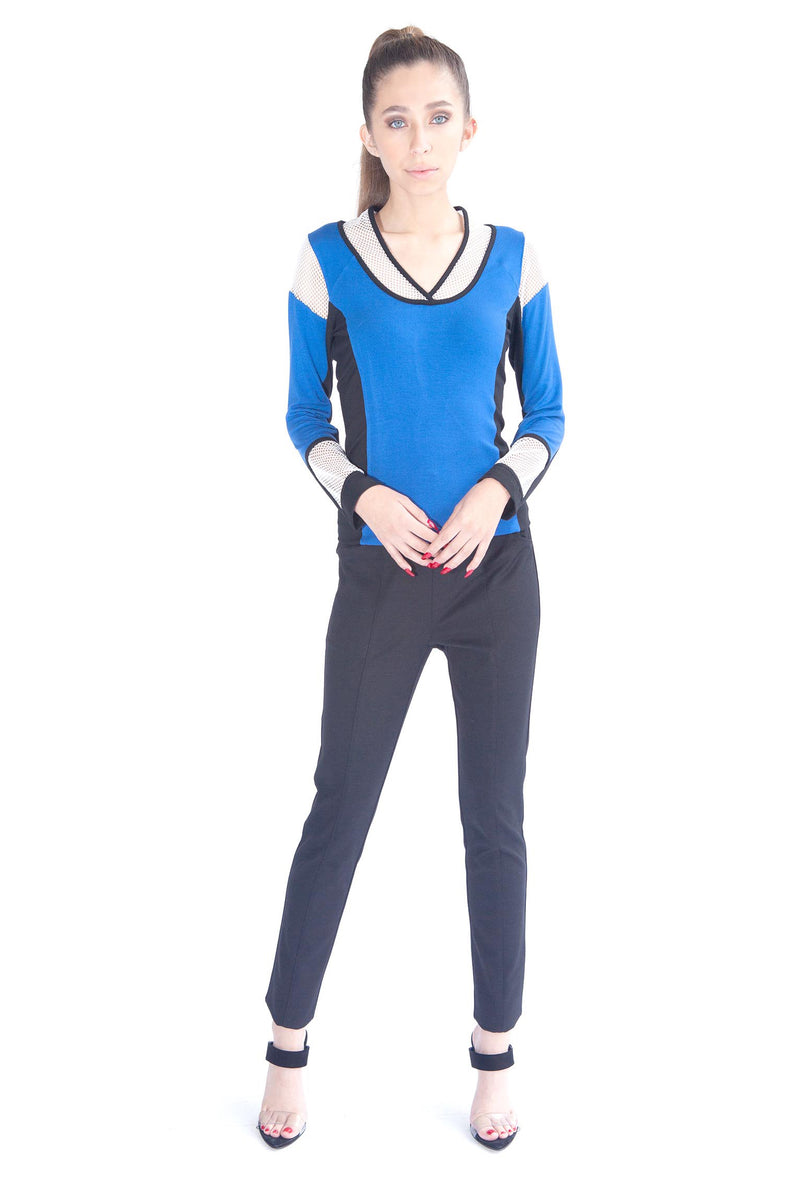 Colorblock Racer Top - W5460833