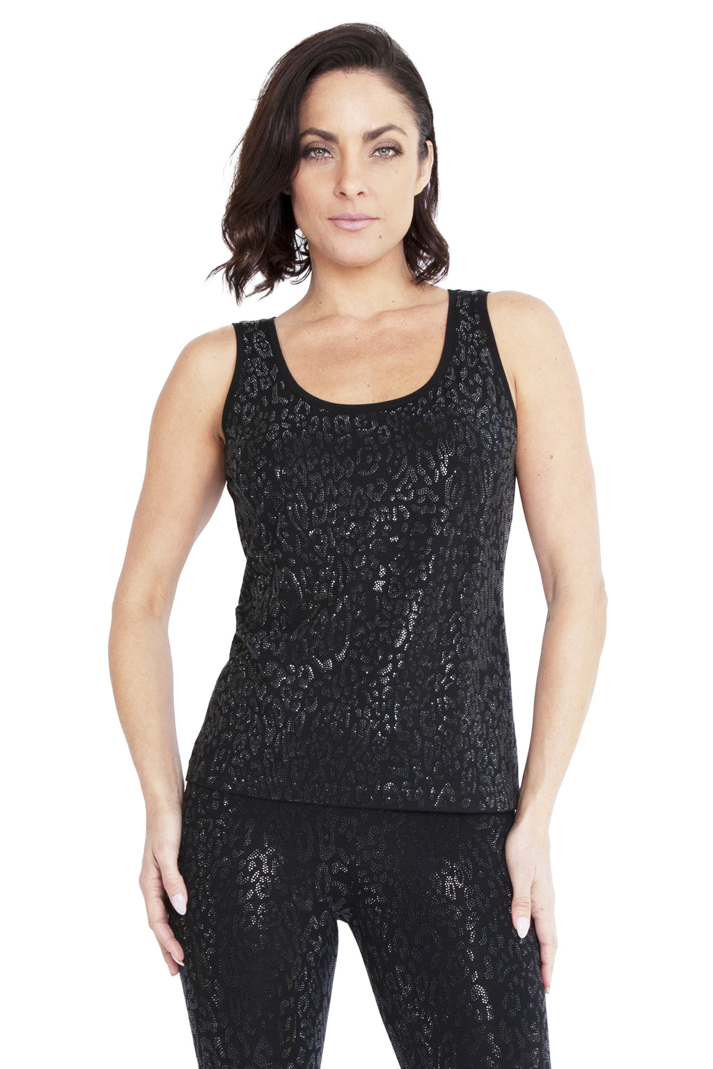 Cheetah Tigress Yoga Tank - W8500304