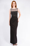 Crystal Pearl Sleeveless Dress - W1480306