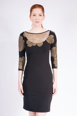 Laser Cut Confetti Dress - W1471208