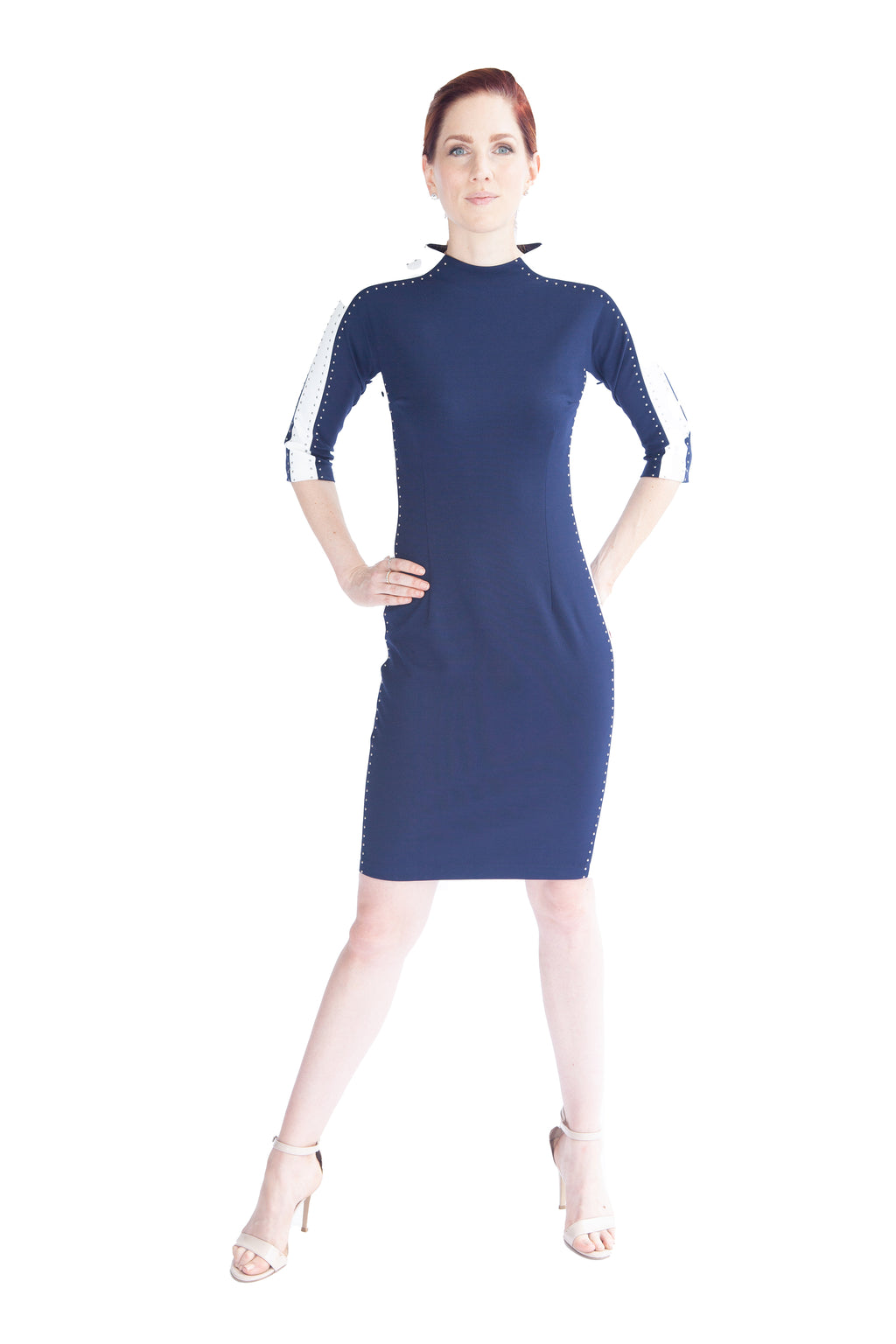 Racer Stripe Dress - W1500101
