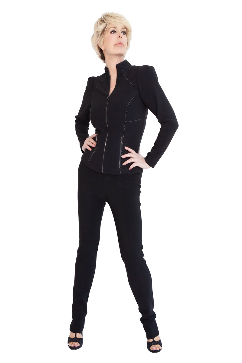 Super Stretch Victorian Sleeve Jacket - W2500702