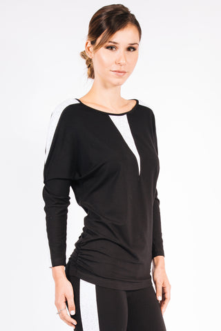 Marie Pantent Leaf Mock Neck - W5450503