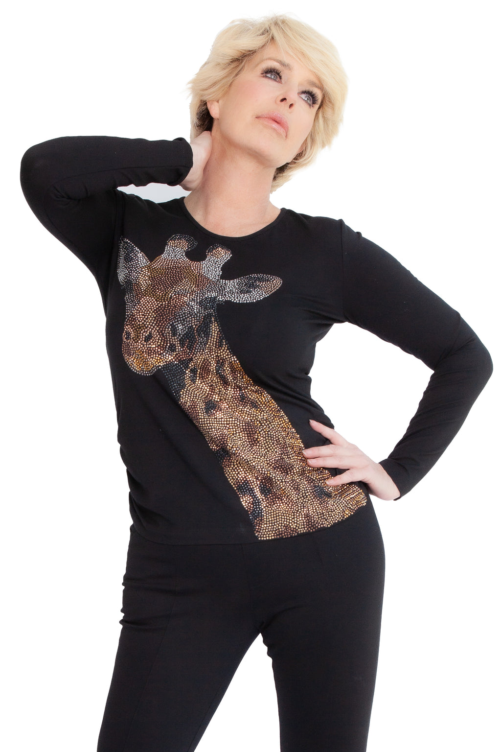 Giraffe Easy Wear Top - W5500112