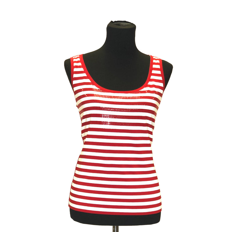 Retro Stripe Tank - W8501202