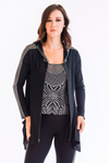 Crystal Diamond Modal Travel Hoodie - W7480602