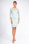 Pave Column Gown Dress - W1411014