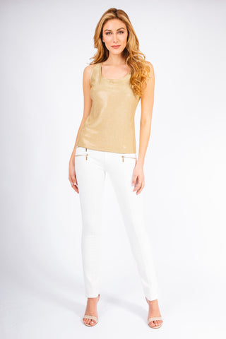 Pave Scoop Neck Tank Top - W8450202