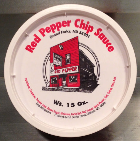 Red Pepper Chip Sauce - Case of 12