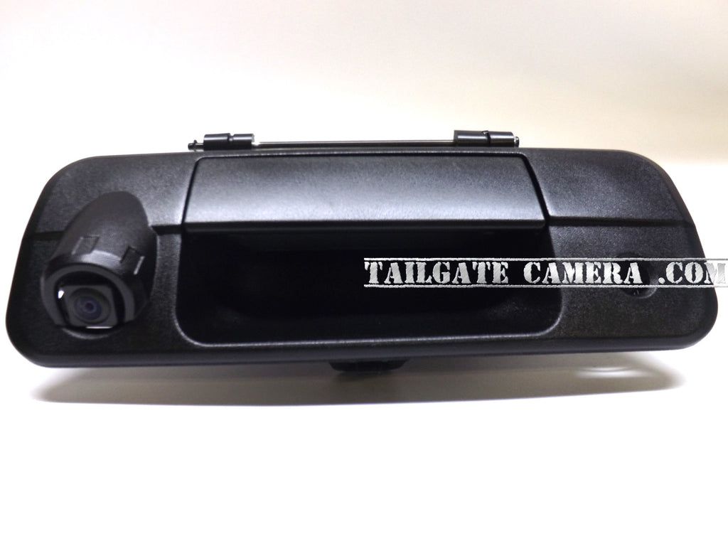 2007-2013 Toyota Tundra Tailgate Handle Rear view/Back Up Camera with Night Vision and Parking Guidance Lines