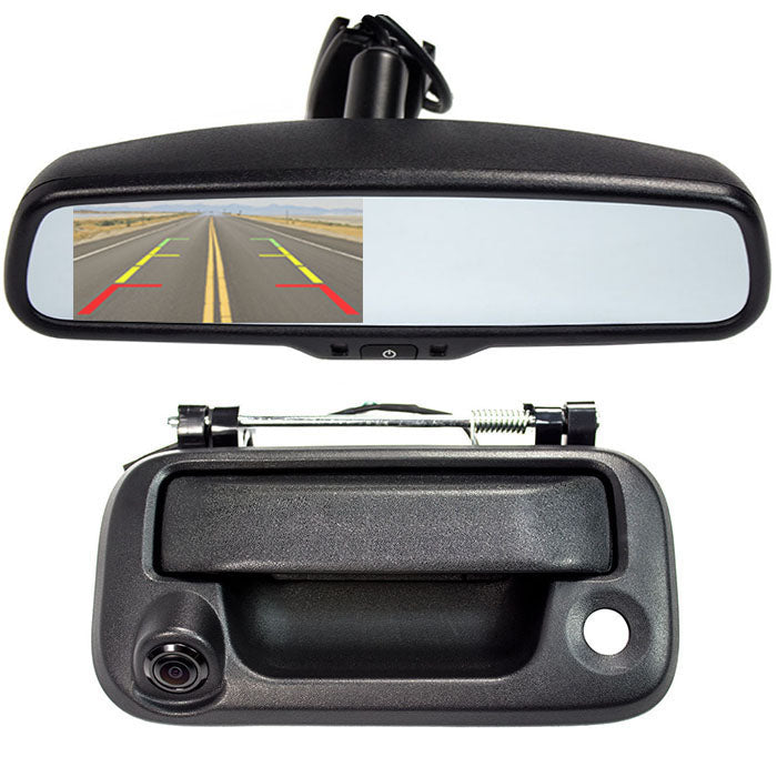 Ford Trucks 2016 >> Tailgate Backup Camera And 4 3 Mirror Monitor For 2004 2016 Ford F150 250 350 450
