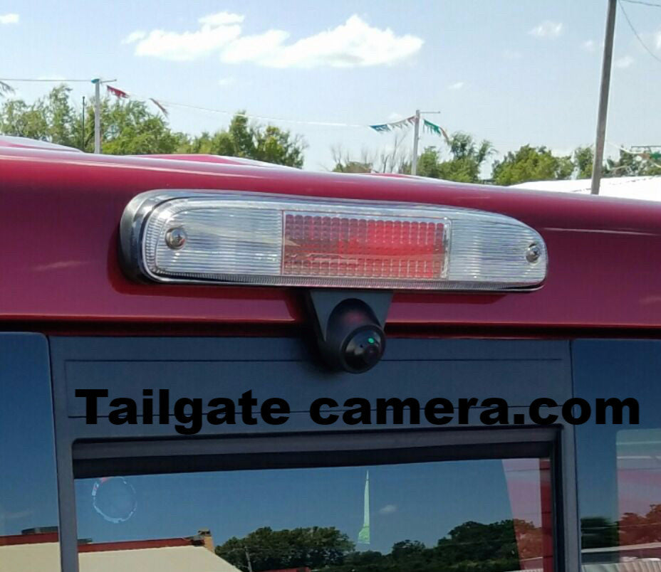 "Third Brake Light Cargo Camera For 2015-2016 F250 With 8"" Screen"