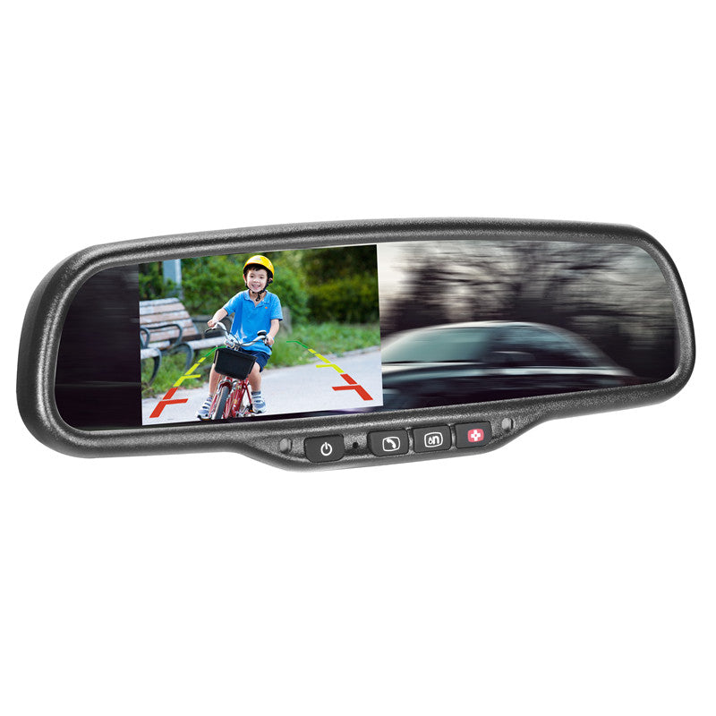 Oe Style 4 3 Rear View Mirror Monitor With Onstar For Chevrolet