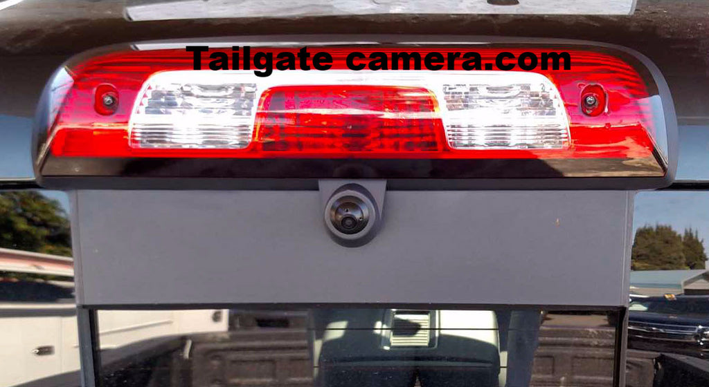 2014-2018 CHEVY SILVERADO / GMC SIERRA THIRD BRAKE LIGHT CAMERA