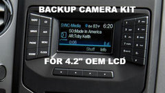 "2015+ F150 HD BACKUP CAMERA FOR FORD OEM 4.2"" LCD"