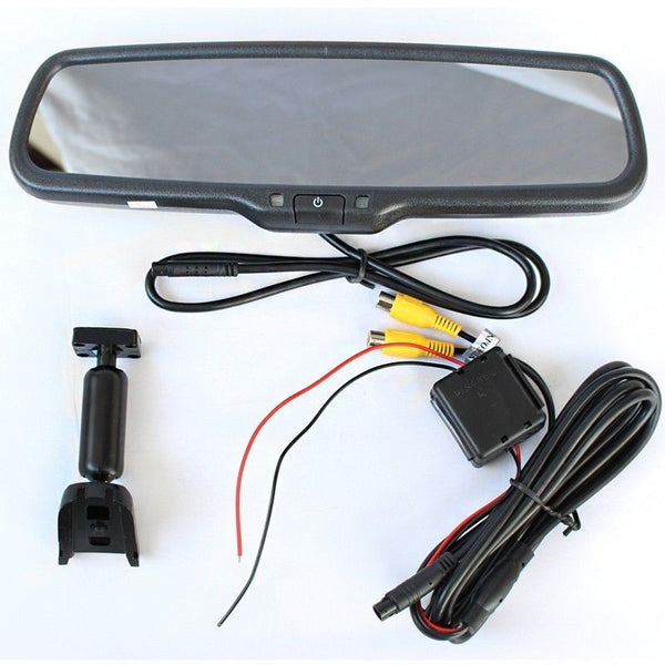 Tailgate Backup Camera And 4 3 Mirror Monitor For 2004