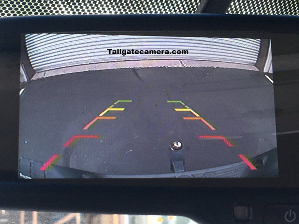 Tailgate Backup Camera And 4 3 Mirror Monitor For 2007