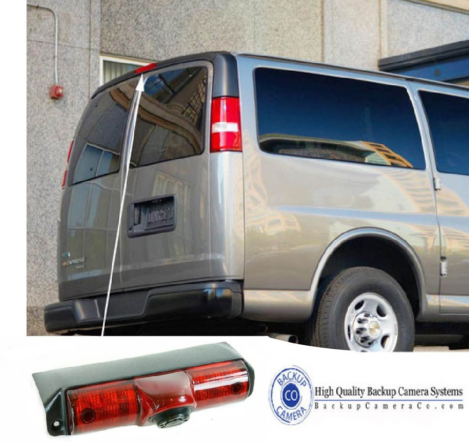 Chevrolet Express and GMC Savana Backup Camera | Tailgate ...