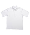 Zorrel Men Performance Oxford Coolmax Polo Large / White / Z3221