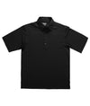 Zorrel Men Performance Oxford Coolmax Polo Small / Black / Z3221