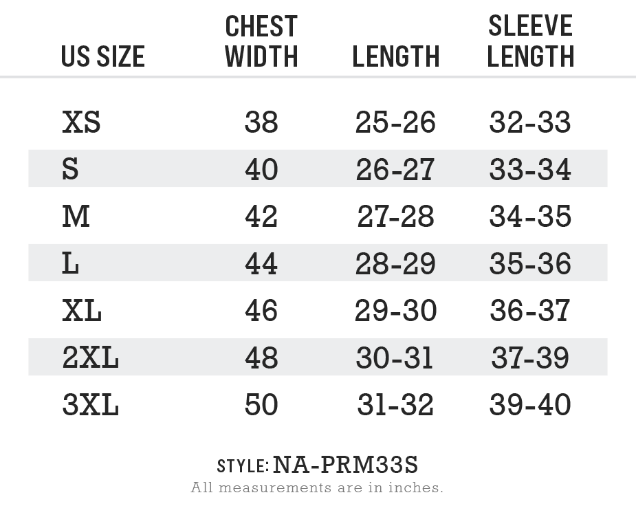 Men's Ridiculously Soft Midweight Raglan Hooded Sweatshirt Size Chart