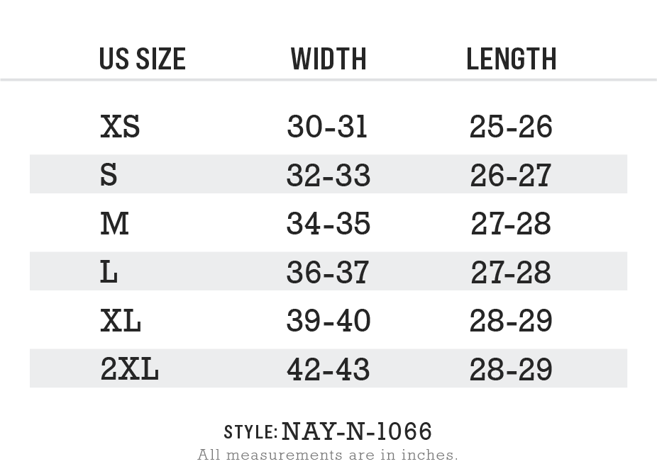 Women's Ridiculously Soft Midweight Crew Neck T-Shirt Size Chart