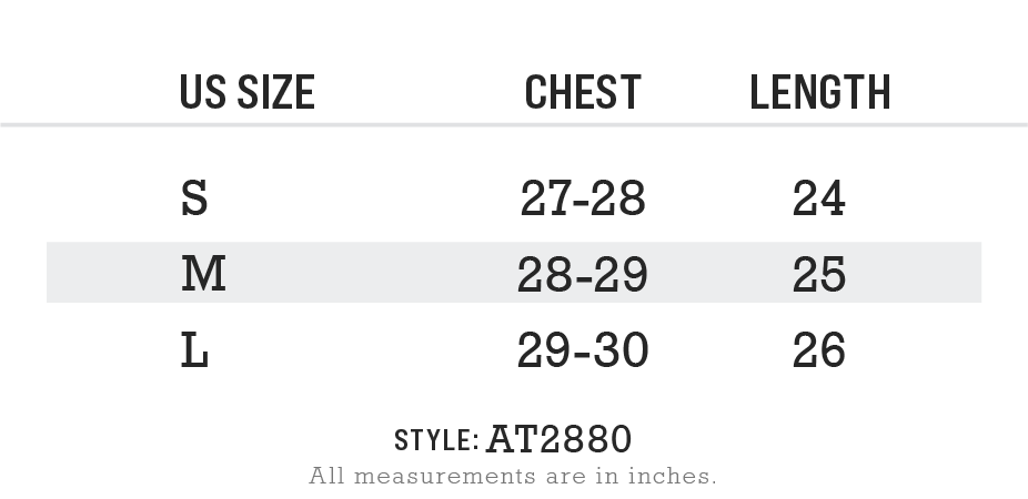 Women's Ruched Sides Active Cropped Top Size Chart