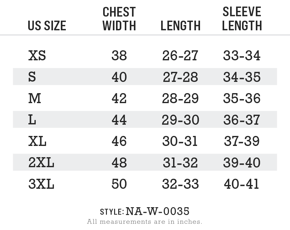 NA-W-0035 - Womens Ridiculously Soft Heavyweight Oversized Pigment-Dyed Sweatshirt Size Chart