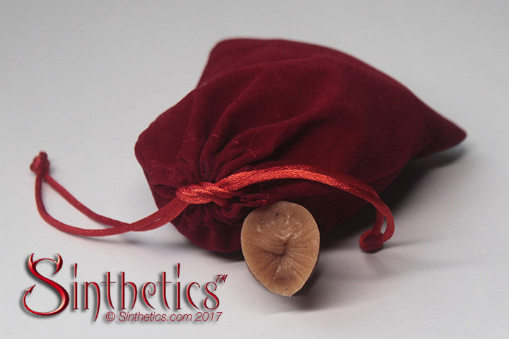 Velvet Bag of Assholes - Sinthetics - Artfully Hand Crafted Silicone Items! - 2