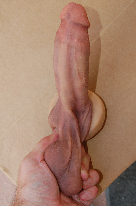 "6"" Circumcised Dildo - Ultra Realistic - Sinthetics - Artfully Hand Crafted Silicone Items! - 1"