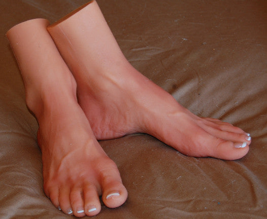 Two-Toned Feet - Sinthetics - Artfully Hand Crafted Silicone Items! - 3