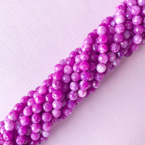 Load image into Gallery viewer, 10mm Pink Mother of Pearl Teardrop Strand - Christine White Style
