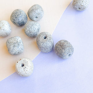 10mm Stegadon Fossil Beads - 10 Pack