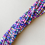 4mm Bright And Bold Multi Polymer Clay Strand
