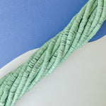 6mm Fern Green Polymer Clay Strand