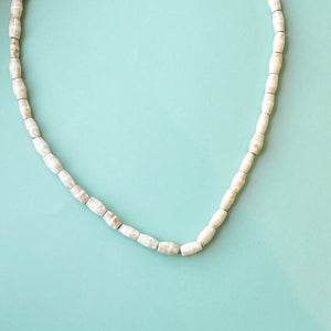 Batik Natural Bone Barrel Strand