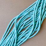 4mm Turquoise Magnesite Heishi Strand