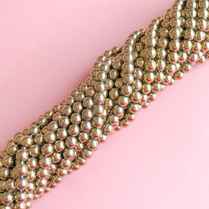 Load image into Gallery viewer, 6mm Bronze Hematite Rounds Strand - Christine White Style