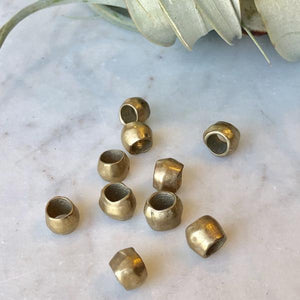 Thick Bronze Ring - Pack of 10 - Christine White Style