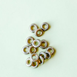 Load image into Gallery viewer, 8mm Brass Rings - Pack of 15