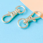 32mm Shiny Gold Swivel Clasp - 2 Pack